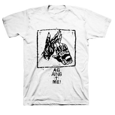 Against Me! Gloves Cult T-shirt (White)