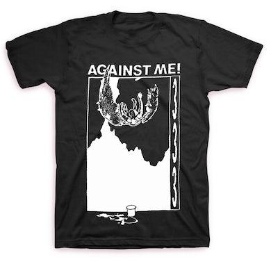Against Me! 333 T-shirt (Black)