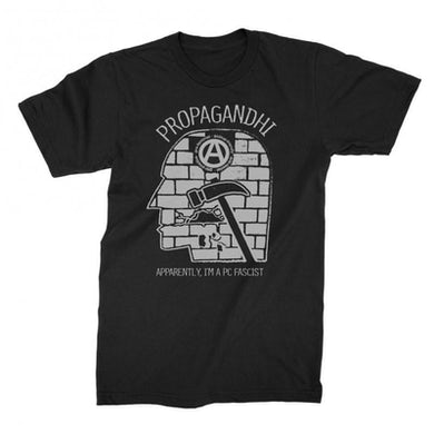 Propagandhi PC Fascist Tee (Black)