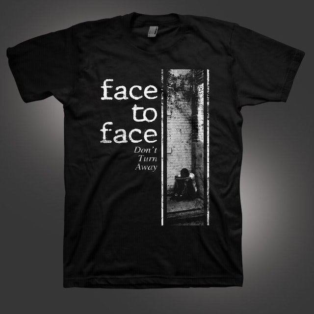 Face To Face Don't Turn Away T-shirt (Black)