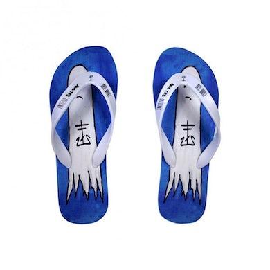 Frank Iero Boozey Women's Flip Flops