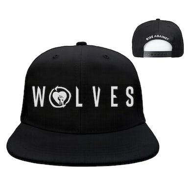 Rise Against Wolves Snapback (Black)