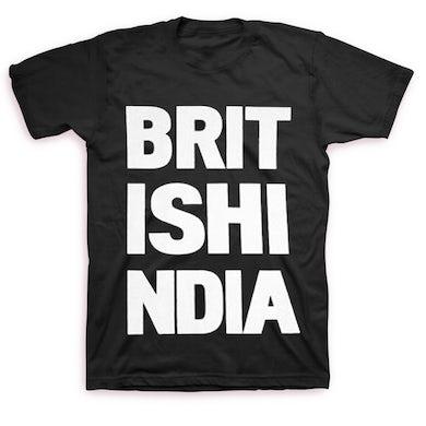British India Stacked Logo T-shirt (Black)