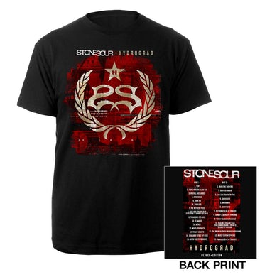 Stone Sour Hydrograd Deluxe Tracklisting Tee
