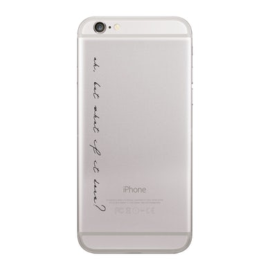 """Amber Scholl """"What If"""" Phone Case"""