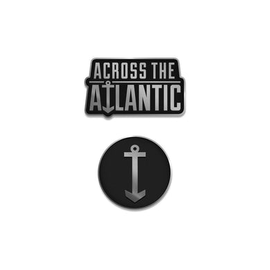 Across The Atlantic - Works of Progress Enamel Pin Set
