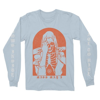 No Place To Hide Light Blue Long Sleeve