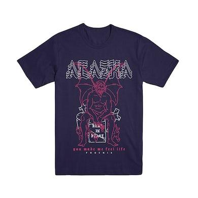 Alazka - Feel Life Navy Tee