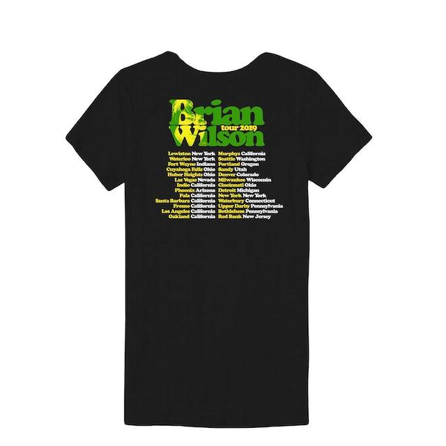 Brian Wilson Palm Trees 2019 Tour Ladies Tee