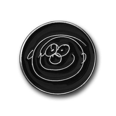Paul McCartney Smiley Face Metal Pin Badge