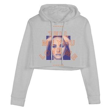 Demi Lovato TMYLM Crop Hoodie