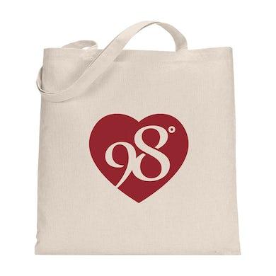 98 Degrees Heart Logo Frnt