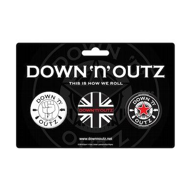 DOWN N OUTZ Button Set