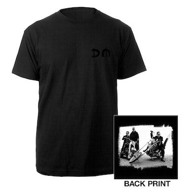 Depeche Mode DM/Bike Photo Black T-shirt