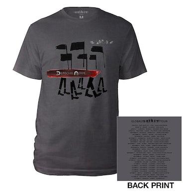 Depeche Mode Album/US Dates Grey T-shirt
