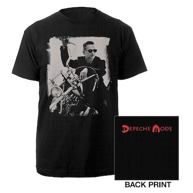 Depeche Mode Dave Photo Black T-shirt