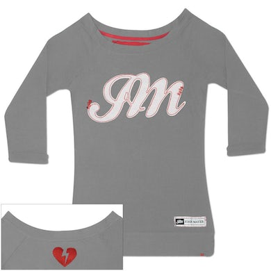 John Mayer JM logo long sleeve tee