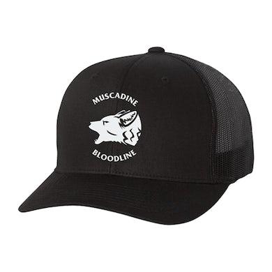 Muscadine Bloodline Coyote Trucker Hat