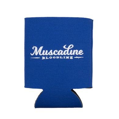 Muscadine Bloodline MB Blue Koozie