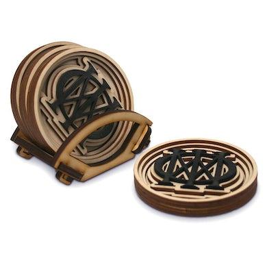 Dream Theater Majesty Symbol Baltic Birch Coasters