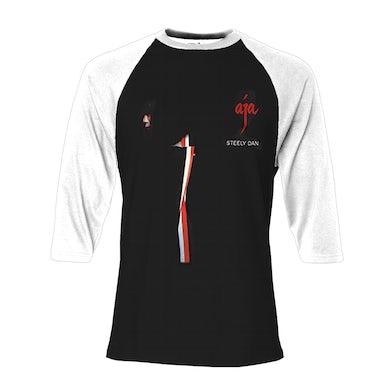 Steely Dan Aja Album Cover Raglan Shirt