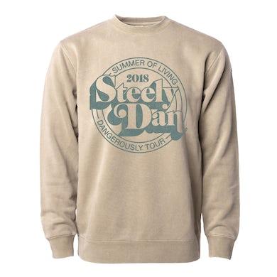 Steely Dan Summer of Living Dangerously Tour 2018 Crewneck Sweat