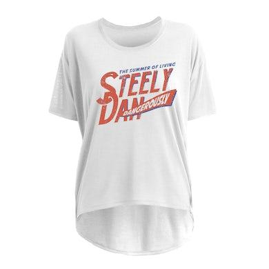 Steely Dan Summer Of Living Dangerously Womens Slouchy Tee
