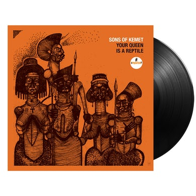 Your Queen is a Reptile LP (Vinyl)