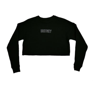 Britney Spears Gimme More Cropped Crewneck