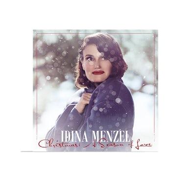 Idina Menzel Christmas: A Season Of Love - Signed LP Jacket
