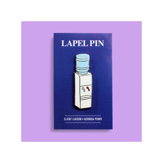 Client Liaison Water Cooler Lapel Pin