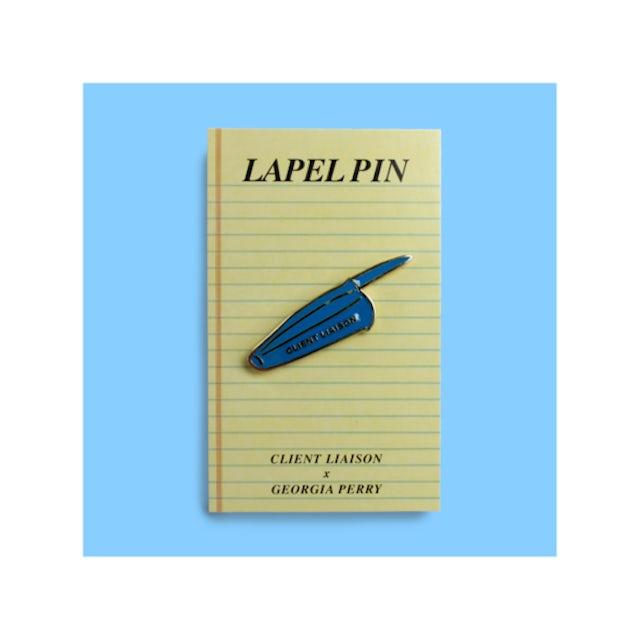 Client Liaison Pen Lid Lapel Pin