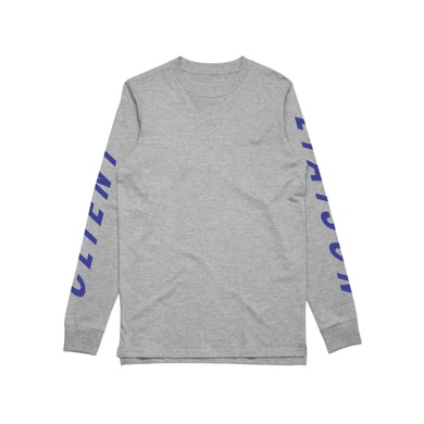 Client Liaison SPEED REMIX (Grey Marl) Longsleeve // LIMITED EDITION