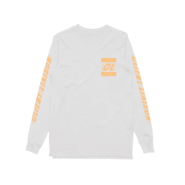 Client Liaison Speed 1.0 Gold (White) Longsleeve
