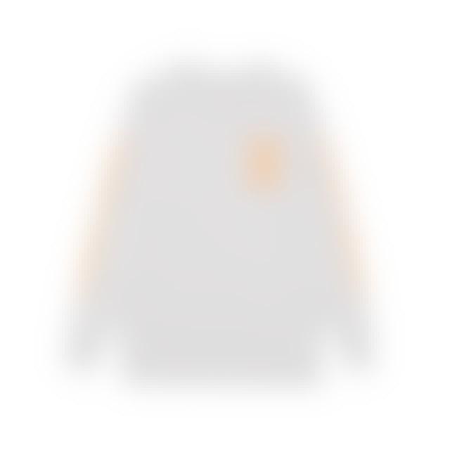 Client Liason Speed 1.0 Peach (White) Longsleeve // LIMITED EDITION