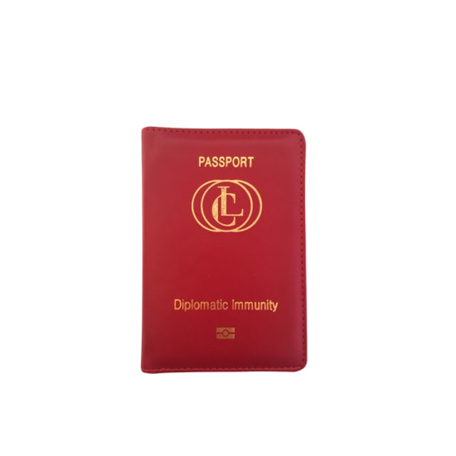 Client Liaison Diplomatic Immunity Passport Wallet