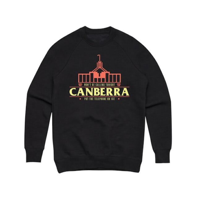 Client Liaison Canberra (Black) Crewneck Sweater