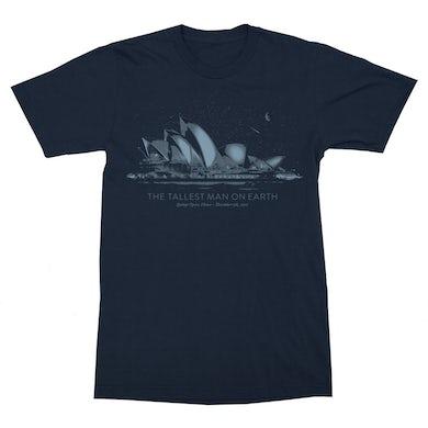 The Tallest Man on Earth | Sydney Opera House T-Shirt