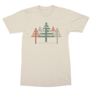 The Tallest Man on Earth | Treestripe T-Shirt - Canvas Natural