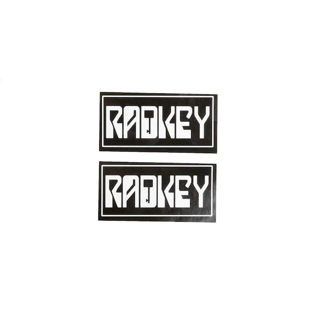 Radkey | Radkey Logo Stickers (Set of 2)