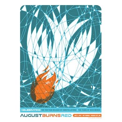 August Burns Red | 18X24 Constellations Ten Year Anniversary Poster