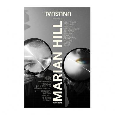 Marian Hill | 11X17 2018 Unusal Tour Poster