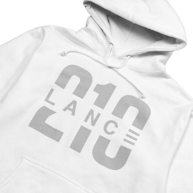 Lance Stewart 210 Hoodie (White/Silver)