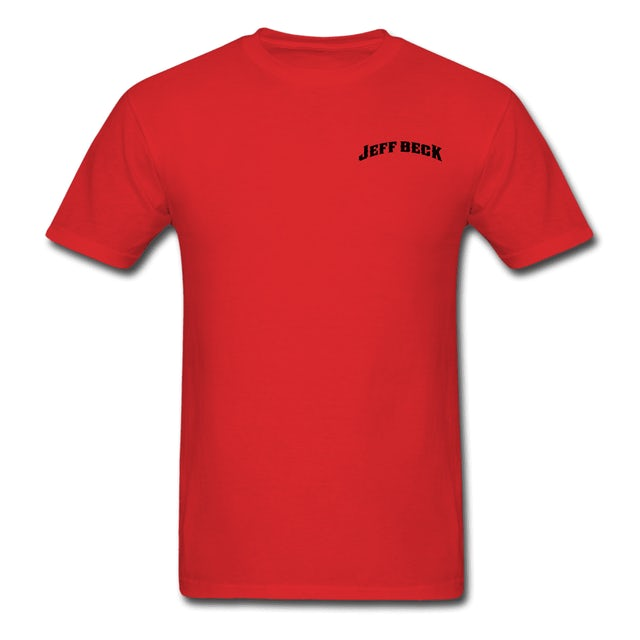 Jeff Beck Crew Tee - Red