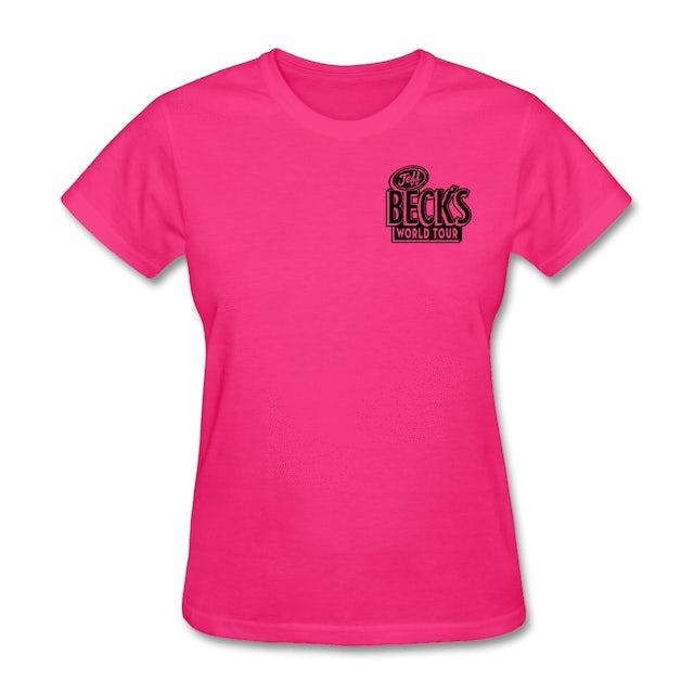 Jeff Beck World Tour Tee (Women) - Pink