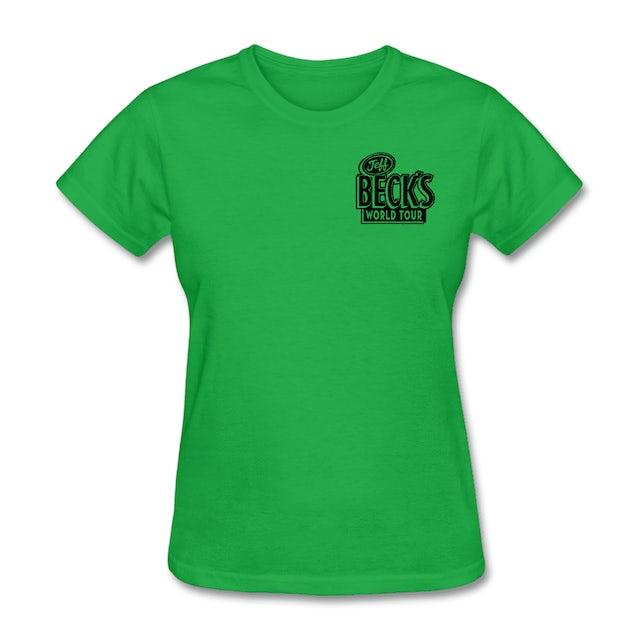 Jeff Beck World Tour Tee (Women) - Green