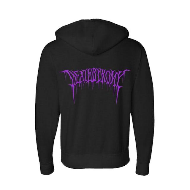 DeathbyRomy Love u - to Death Zip Hoodie