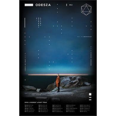 Odesza Spring 2018 Tour Poster