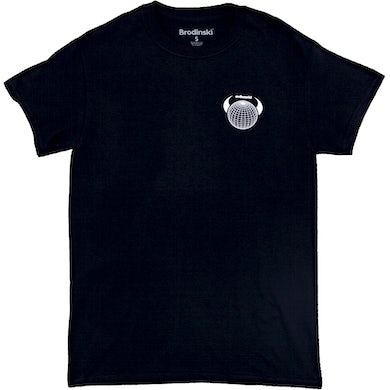 Brodinski Black Evil World Logo Tee