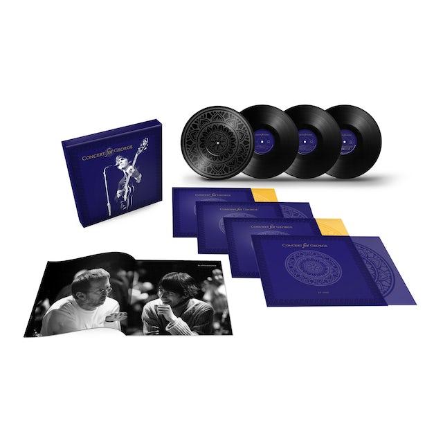 George Harrison Concert for George 4LP Vinyl Box